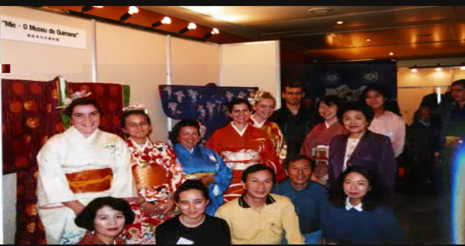 1998年(平成10年)リスボンでの着物ショー