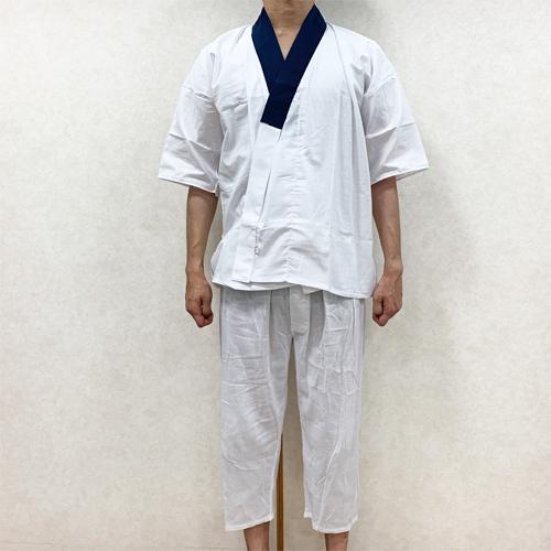浴衣の着付け方男性編STEP1