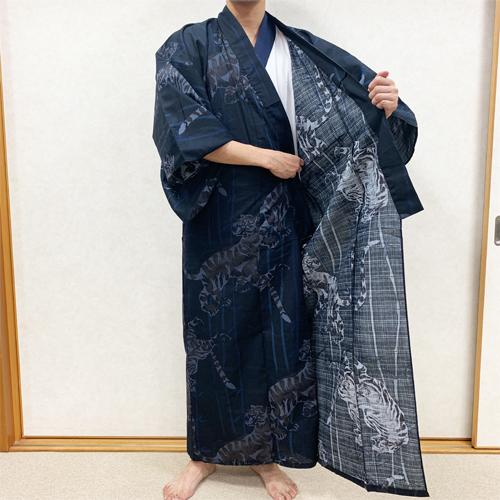 浴衣の着付け方男性編STEP4-1