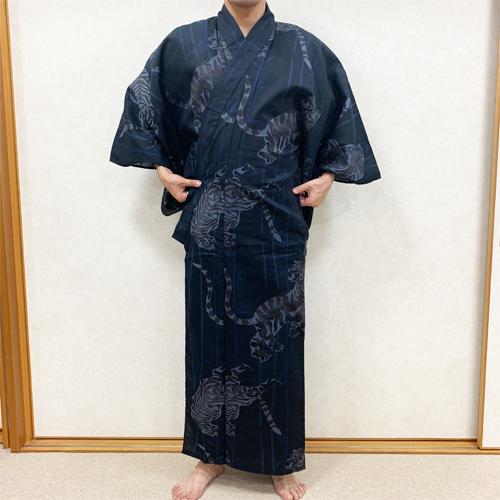 浴衣の着付け方男性編STEP4-2