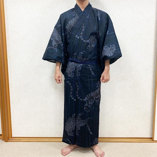 浴衣の着付け方男性編STEP5-2
