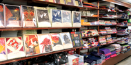 和雑貨・印傳・祭用品のフロア 日本橋横山町 上田嘉一朗商店