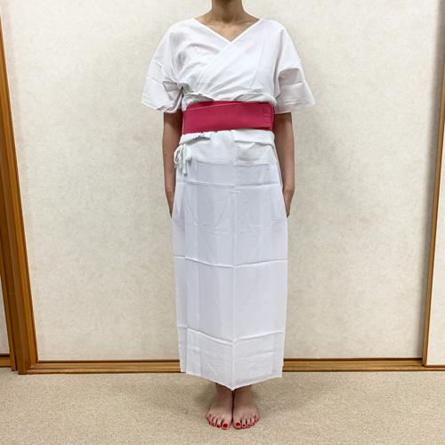 浴衣の着付け方女性編STEP1