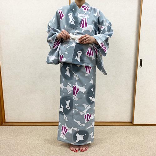 浴衣の着付け方女性編STEP12