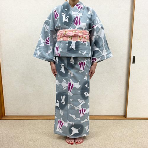 浴衣の着付け方女性編STEP15