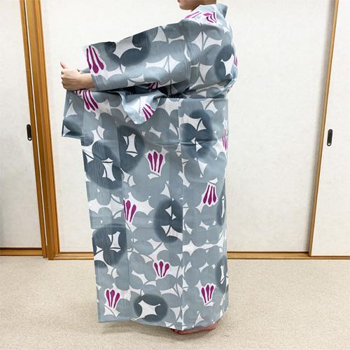 浴衣の着付け方女性編STEP4