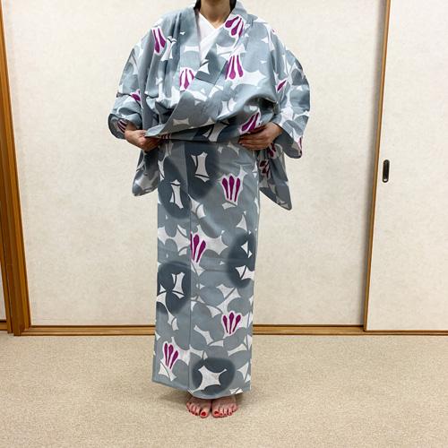 浴衣の着付け方女性編STEP7
