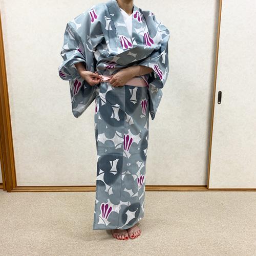 浴衣の着付け方女性編STEP8